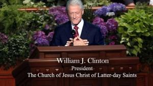 Church President Clinton
